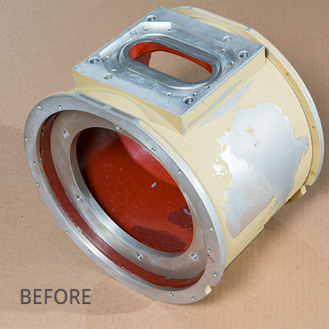 Remanufactured Part - Before
